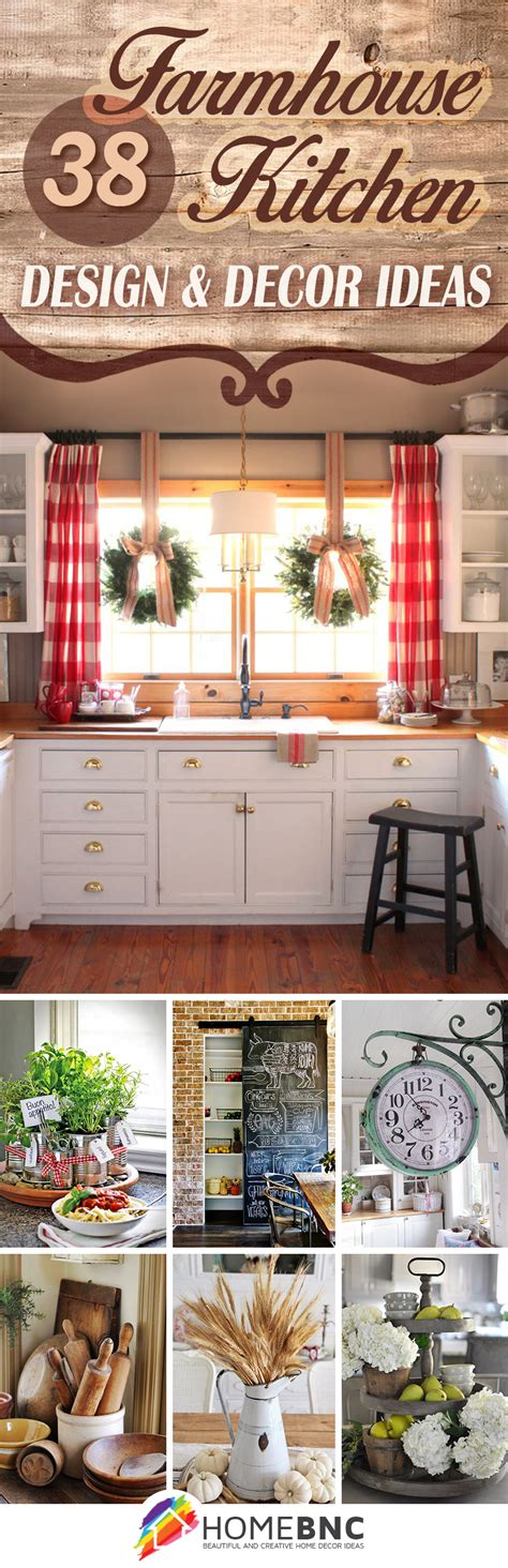 decor and design 38 best farmhouse kitchen decor and design ideas for 2017