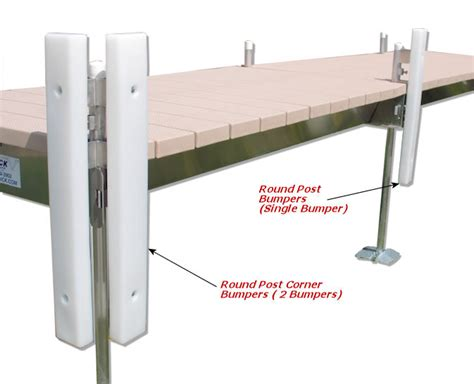 boat lift post bumpers vertical bumpers for round post dock parts and