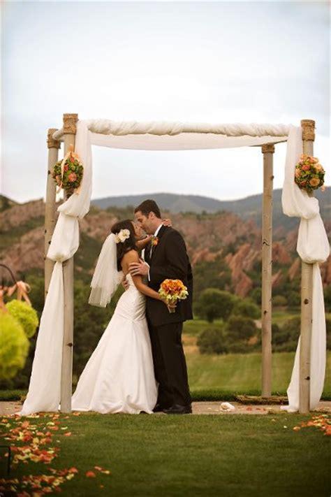 Wedding Arch Rental Dallas by Outdoor Ceremony Ideas Wedding Ceremony Photos By