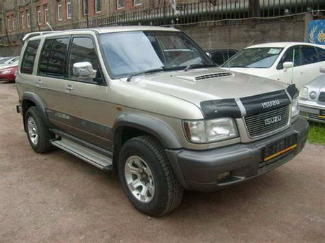 1998 isuzu bighorn pictures 3000cc diesel automatic for sale