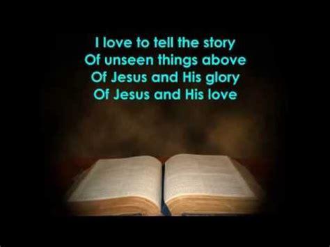 I To Tell The i to tell the story with lyrics
