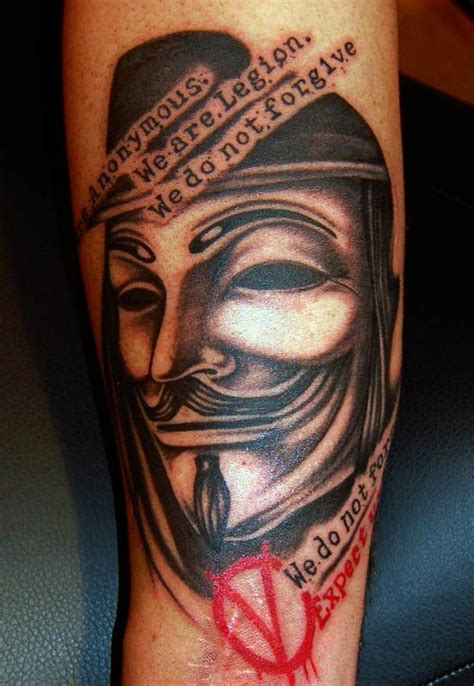 v for vendetta tattoo best 3d tattoo ideas pinterest