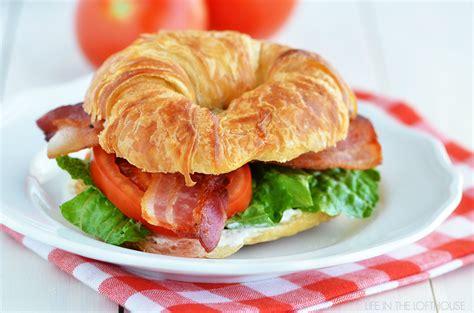 Sandwich T blt ranch croissants