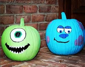 Clever Pumpkin clever no carve painted pumpkin ideas for kids pumpkins