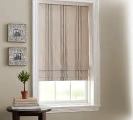 blinds pottery barn stripe cordless shade traditional
