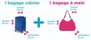 taille et poids des bagages cabines ma valise
