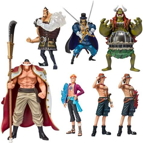 Z Bandai Collection Figure Set Of 7 bandai tamashii nations one white beard chozoukei damashii figures set of 8