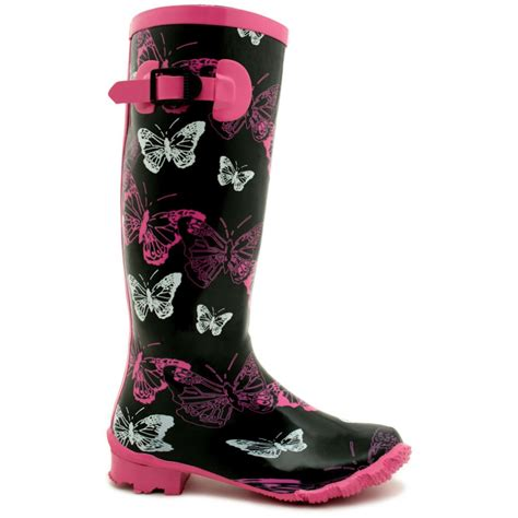 buy funky patterned festival wellies wellington boots