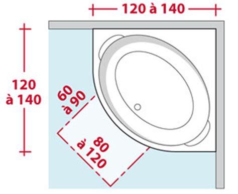 Baignoire D Angle Dimension by Am 233 Nager L Espace D Une Salle De Bains
