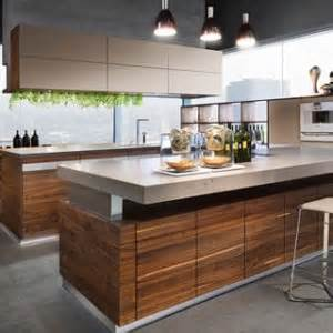 Kitchen Wooden Furniture by K7 Modern Kitchen Design With Wood Furniture