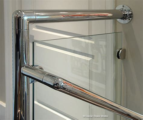 Chrome Banister Rails by Cbw Staircase Railings
