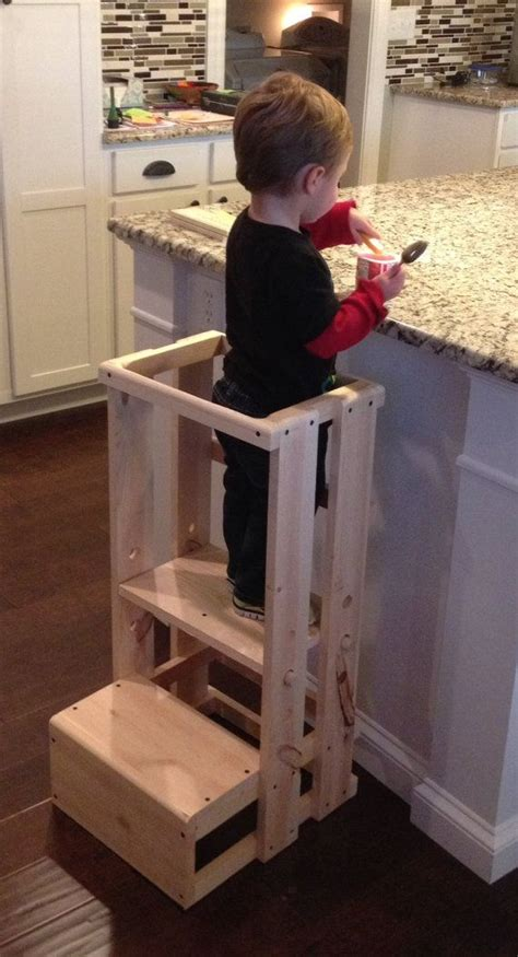 Kitchen Helper Safety Tower Step Stool by Safe Step Stool Child Safety Kitchen Stool S
