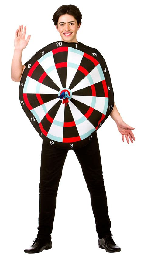 target costume dart board mens fancy dress sports stag target adults costume ebay