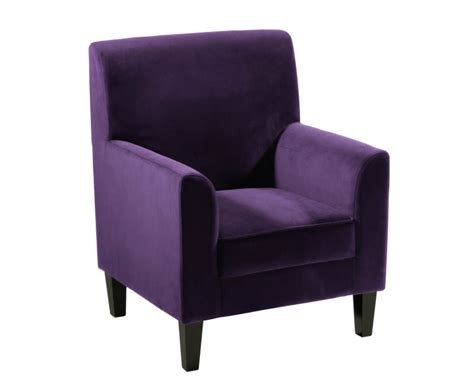armchair purple kylie upholstered armchair