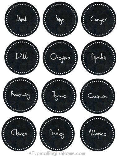 chalkboard spice label emakesolutions com a typical english home printable spice labels