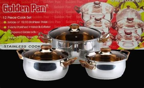 Panci Golden Pan panci golden pan original murah cook ware set lengkap