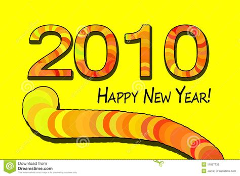 happy new year 2010 2010 happy new year of the tiger stock photography