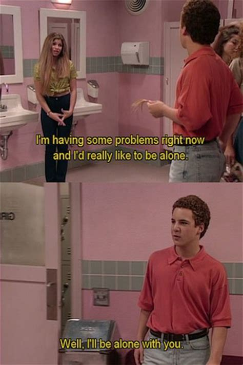 boy in the girls bathroom boy meets world bad life lessons worst morals expressed