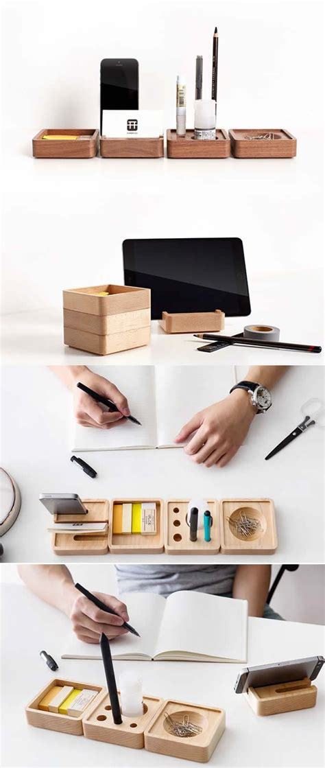wooden desk accessories 17 best ideas about office desk accessories on