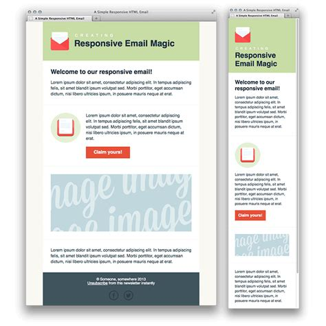 5 Responsive Newsletter Templates Mdirector Com How To Make A Responsive Email Template