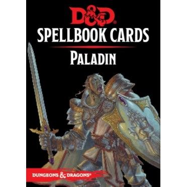 dungeons and dragons spell card template dungeons dragons 5e 201 d spellbook cards paladin