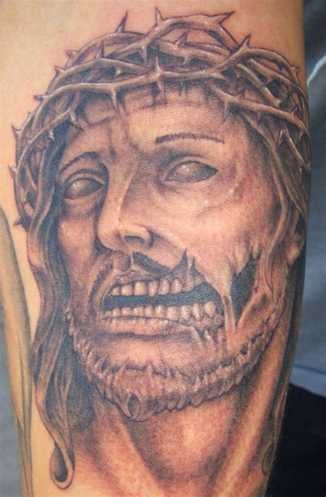 tattoo pictures jesus eat my flesh zombie jesus tattoos