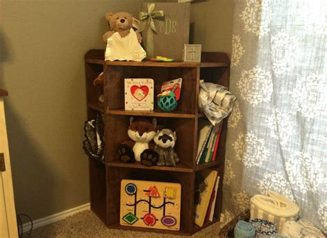 diy corner nursery bookshelf wilker do s