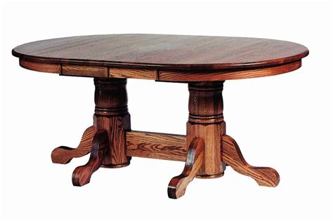 double pedestal dining room table wood double pedestal oval dining table