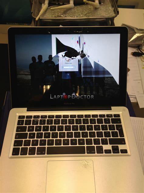 macbook pro 13 quot broken screen replacement cracked screen