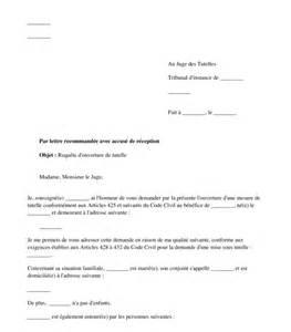 Exemple De Lettre Pour Un Juge Exemple De Lettre Au Juge Des Tutelles