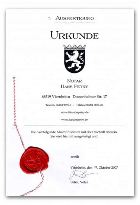 Testament Notariell Beglaubigen by Der Notar Viernheim