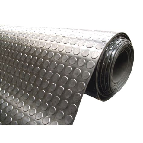 Rolled Rubber Mat by Pub Shop Safety Mats Circular Pattern Rubber Matting