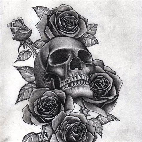 玫瑰骷髅纹身手稿 南京纹身店价格 南京哪里纹身馆最好 纹彩刺青 全国连锁