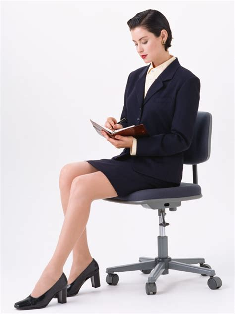 Person Sitting In Chair by Business Free Stock Photo A Beautiful In A
