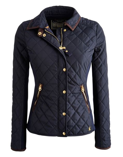 Navy Quilted Jacket Womens by 17 Best Ideas About Quilted Jacket On