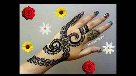 tutorial henna designs very easy diy henna designs how to apply easy simple new stylish