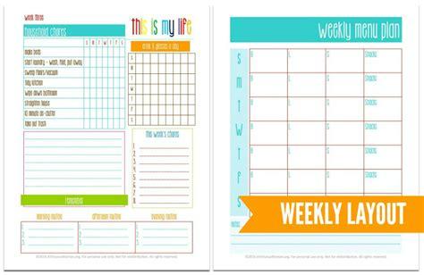 printable blog planner 2016 6 best images of printables weekly layout pretty weekly