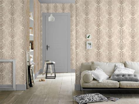 parelmoer behang barok glim parelmoer behang bloemen behang abcbehang