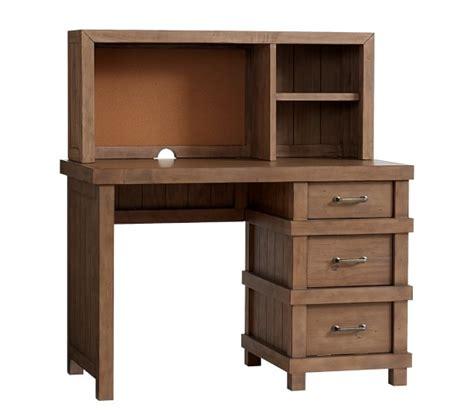Desks With Hutches Storage Owen Storage Desk Hutch Pottery Barn