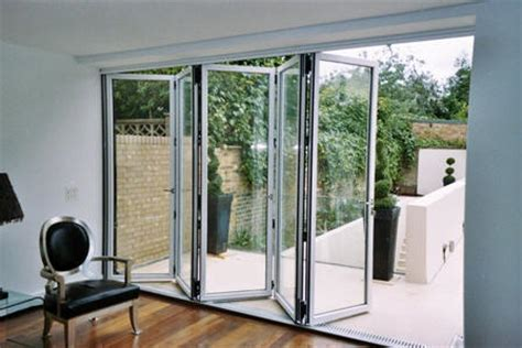 Glass Patio Doors Folding Doors Glass Folding Doors For Patio