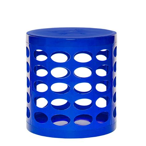 Blue Green Stool In Adults by Otto Storage Stool Blue