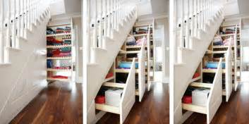 Under Stair Storage System by Space Saving Ideas For A Better House Organizing