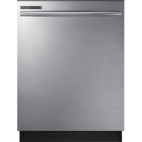 samsung 24 in top dishwasher with stainless steel interior door and plastic tub in