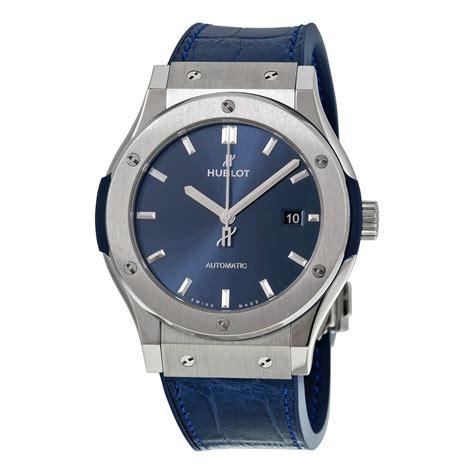 Hublot Genev hublot classic fusion automatic blue sunray titaniummen s 542 nx 7170 lr classic