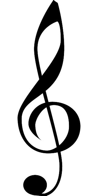 music tattoo png black music note clef treble book tattoo clefs
