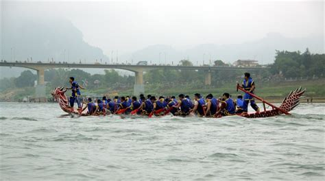 new year boat races boat races celebrate lunar new year news vietnamnet