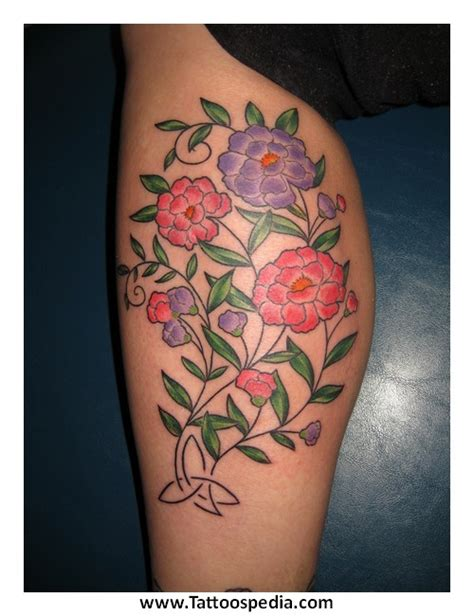 flower tattoo representing strength flower tattoos that represent strength 1