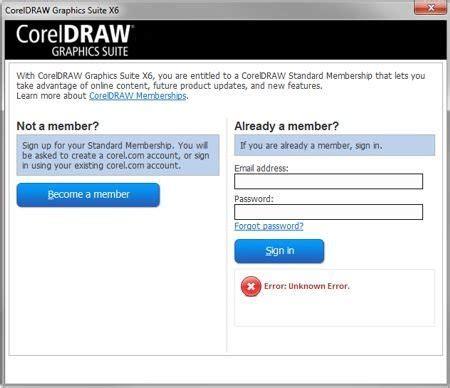 corel draw x6 expired expired validation and membership login coreldraw