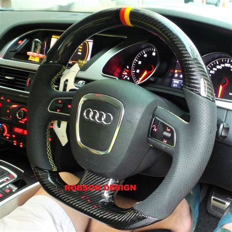 Audi Lenkrad by Audi A5 Steering Wheel Excluded Airbag Switches Carbon