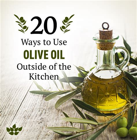 7 Different Uses For Olive by 20 Ways To Use Olive Outside Of The Kitchen Swanson